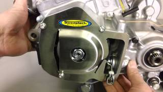 5. SwedeTech How To Install the Honda CR125 Flywheel and Stator Cover