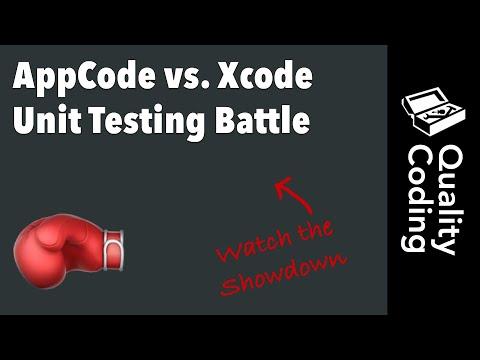 AppCode vs. Xcode Unit Testing Battle