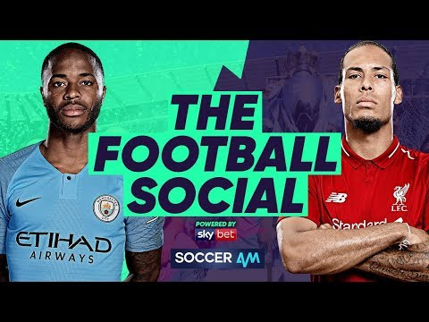 LIVE: Man City Beat Liverpool To The Premier League Title By A Point#TheFootballSocial