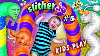 De FGTEEV børn leger Slither.io nu, at de har haft lidt tid til at øve. :) Thumbs up for det sjove gameplay! :)Hvis du er ny ...