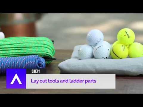 Construire un jeu de bolaball pour la Fête des pères