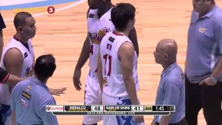 Physical Intensity: Meralco vs. Rain Or Shine | PBA Governor's Cup 2015
