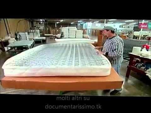 Materassi pieghevoli - i segreti della lavorazione (by Mobilpro)