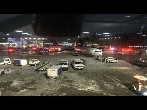 العرب اليوم - بالفيديو: ثاني حادث اصطدام في مطار بيرسون الكندي خلال أشهر قليلة