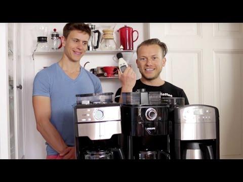 Kaffeemaschinen mit Mahlwerk im Vergleich