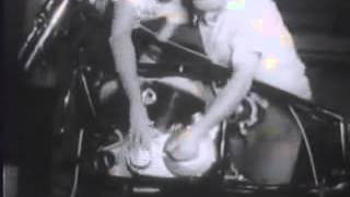 7. Vintage Indian Motorcycle Advertisement