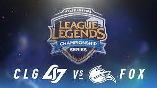 Video CLG vs. FOX - Week 3 Day 1 | NA LCS Spring Split | Counter Logic Gaming vs. Echo Fox (2018) MP3, 3GP, MP4, WEBM, AVI, FLV Juni 2018