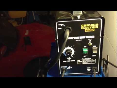 Wire Welder, 90 Amp Flux Chicago Electric Welding – Item#68887 Review Harbor Freight Tools -Part 2/3