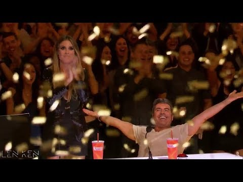 TOP 4 Golden Buzzer America's Got Talent 2017 (видео)
