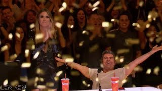Video TOP 4 Golden Buzzer America's Got Talent 2017 MP3, 3GP, MP4, WEBM, AVI, FLV Januari 2018