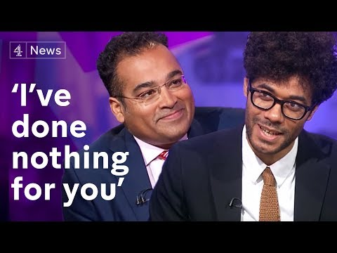 Who - Subscribe to Channel 4 News: http://bit.ly/1sF6pOJ Actor and director Richard Ayoade is famously shy. So shy, in fact, that when he wrote his latest book, he interviewed himself. He talks...