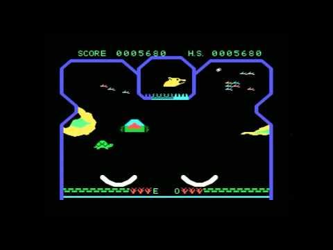 Quick Play: Flipper Slipper on the Spectravideo SVI 328 Computer