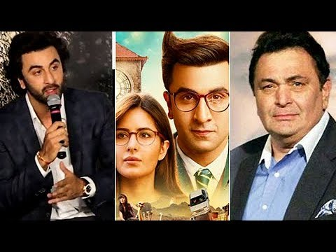 Ranbir Kapoor REACTS On Rishi Kapoor's ANGRY REACT
