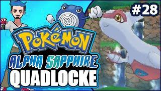 Pokémon AlphaSapphire Randomizer Quadlocke Part 28 | GET YOUR LATI-ASS BACK HERE! by Ace Trainer Liam