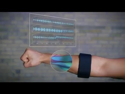 Wearable Gesture Controlled Arm-Band Device by Thalmic Labs