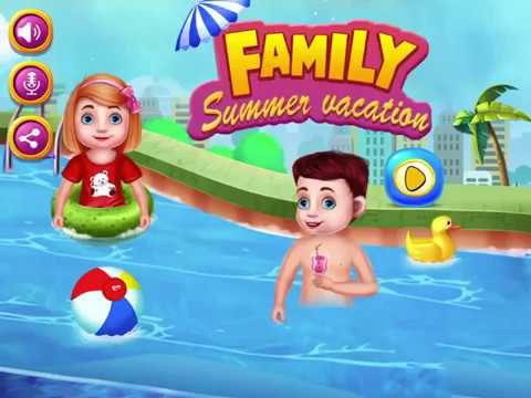 Family Summer Vacation - Family Summer Holiday Celebration GamePlay Video By GameiMake