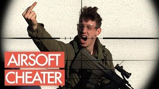 Airsoft CHEATER caught on Camera