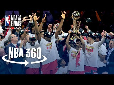 NBA 360 | Toronto Raptors Championship Celebration