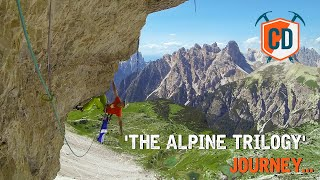 The Alpine Trilogy: Ultra Hard Multi-Pitches In The Mountains   Climbing Daily Ep. by EpicTV Climbing Daily