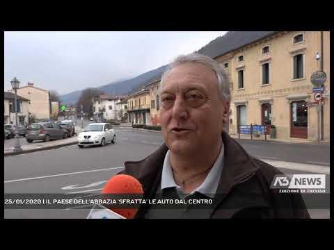 25/01/2020 | IL PAESE DELL'ABBAZIA 'SFRATTA' LE AUTO DAL CENTRO