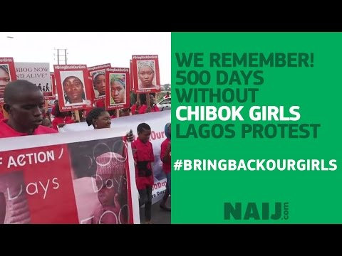 WE REMEMBER! 500 days without the Chibok girls, Lagos protest | Legit TV