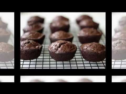 How to Cook Brownies in a Cupcake Pan - brownie bites