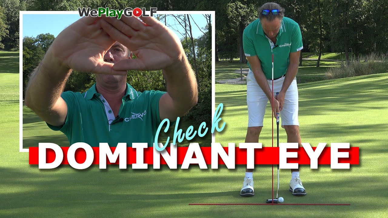 The best putting tip you'll ever get! Check your dominant eye!
