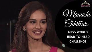 Video Miss India World 2017 Manushi Chhillar's Head To Head Challenge Performance MP3, 3GP, MP4, WEBM, AVI, FLV Februari 2018