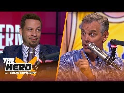 Chris Broussard reveals NBA Playoffs picks, says Jeanie Buss chose Kobe over Magic | NBA | THE HERD