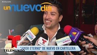 """Video oficial de Telemundo Un Nuevo Día. El productor Omar Suárez confirmó que le ofreció el papel protagónico de su obra """"Amor Eterno"""" a uno de los hijos de Juan Gabriel. ¿Será que acepta?YouTube: http://www.youtube.com/unnuevodiaOfficial page: http://www.Telemundo.com/UnNuevoDiaFacebook https://www.Facebook.com/UnNuevoDiaTwitter https://twitter.com/#!/UnNuevoDiaSUBSCRIBETE: http://bit.ly/1ykCaDrUn Nuevo Día:Es un programa de entretenimiento que ofrece las últimas noticias y titulares de la farándula, lo que está pasando en la vida de los famosos dentro y fuera de la pantalla. Además de los secretos más íntimos de los artistas, sus camerinos y sus hogares.SUBSCRIBETE: http://bit.ly/1ykCaDrTelemundoEs una división de Empresas y Contenido Hispano de NBCUniversal, liderando la industria en la producción y distribución de contenido en español de alta calidad a través de múltiples plataformas para los hispanos en los EEUU y a audiencias alrededor del mundo. Ofrece producciones originales, películas de cine, noticias y eventos deportivos de primera categoría y es el proveedor de contenido en español número dos mundialmente sindicando contenido a más de 100 países en más de 35 idiomas.FOLLOW US TWITTER: http://bit.ly/1aKzTGALIKE US ON FACEBOOK: http://bit.ly/1Bpw7JVGOOGLE+: http://bit.ly/1AyjyRk¿Luis Alberto Aguilera, el protagonista de Amor Eterno?  Un Nuevo Día  Telemundo"""