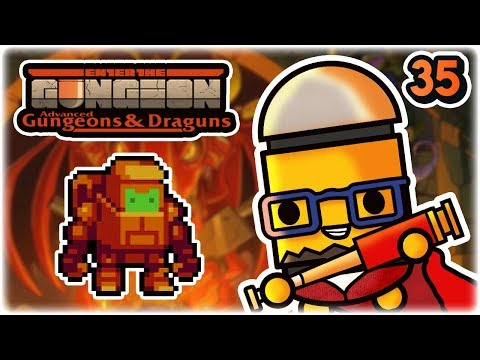 Mecha Junkan | Part 35 | Let's Play: Enter The Gungeon Advanced Gungeons And Draguns | AG&D Gameplay