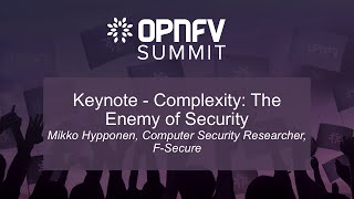 Keynote - Complexity: The Enemy of Security