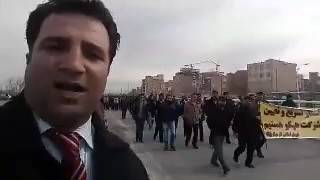 فیلم گزارش خبری وکیل محمد نجفی از تظاهرات کارگران هپکوی اراک