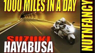 10. 1000 Miles a Day on Suzuki Hayabusa