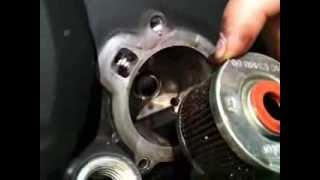 3. Yamaha FZ16 cambio de aceite