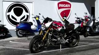 4. Pre-Owned 2008 Ducati Monster S4R S Tricolore #009/400 at Euro Cycles of Tampa Bay