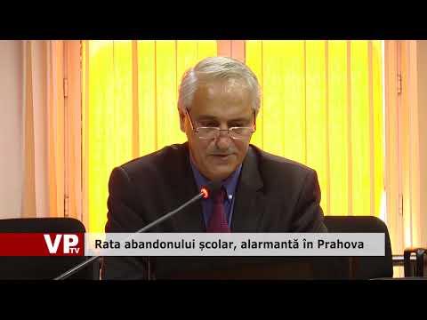 Rata abandonului școlar, alarmantă în Prahova