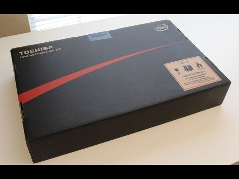 Toshiba - What's up YouTube, here is my unboxing on the all new TOSHIBA Satellite P75-A7200 17.3