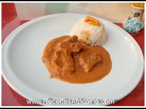 Groundnut soup with chicken - African Food Recipes