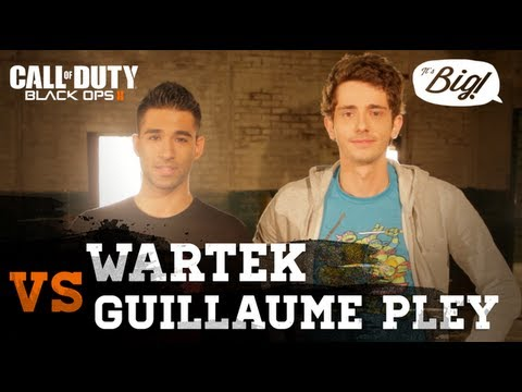 WaRTeK VS Guillaume Pley | 1vs1 sur Black Ops 2