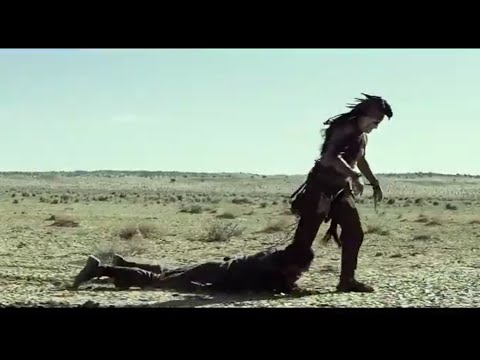 Funniest scene of Lone Ranger movie in Hindi    Lone ranger tries to arrest Tonto
