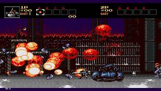Contra: Hard Corps (Sega Genesis / MegaDrive Emulated) by GeneralP123