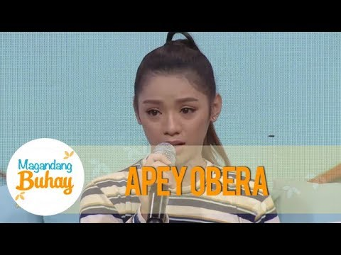 Magandang Buhay: Apey tells about her struggles in life