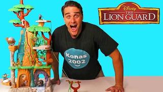 The Lion Guard Training Lair Playset !  Toy Reviews  Konas...