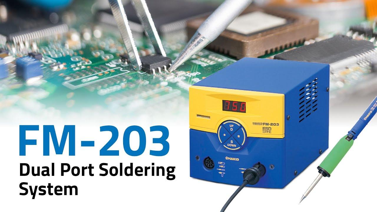 FM-203 Dual Port Soldering Station
