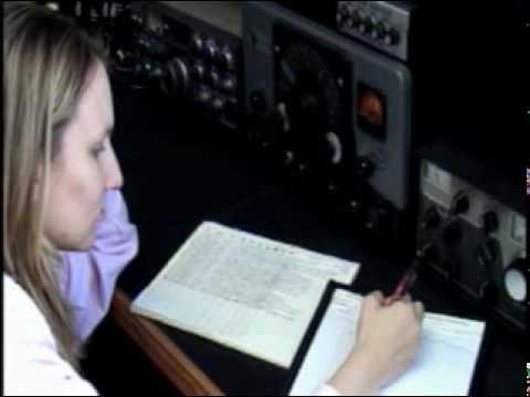 KC8HVM CW QSO Johnson Ranger Transmitter Drake R-4B Tube Ham Radio