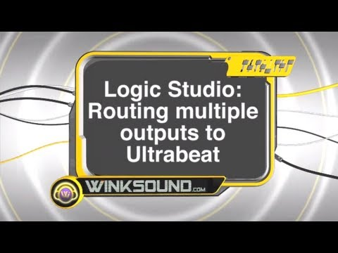 Logic Pro: Routing Multiple Outputs of Ultrabeat | WinkSound