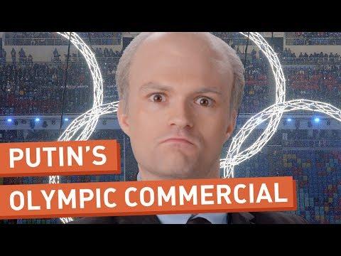 Vladimir Putin promotes the Sochi Olympics (Parody)