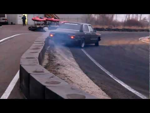 BMW E12 - Drift practise @ Visonta GokartLand 2011. 11. 19. 1981 BMW E12 535i Stock M30B35 engine, with lightened flywheel E28 rear suspension with E34 drift spec D2 c...