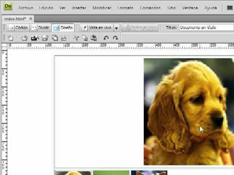 imagenes en dreamweaver crear una galeria de imagenes en dreamweaver ...